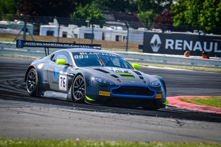R Motorsport Retains Blancpain Silverstone Victory The Checkered Flag