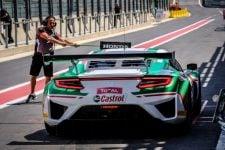 Blancpain 2018 - Honda NSX GT3 Pitlane Spa