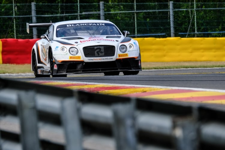 #31 Team Parker Racing GBR Bentley Continental GT3 Pro-Am Cup, Track | SRO / Dirk Bogaerts Photography