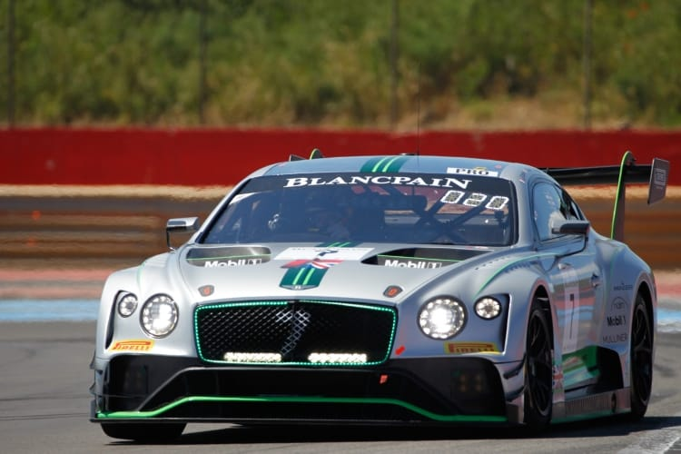 Blancpain GT 2018 - #7 Bentley Team M-Sport Bentley Continental GT3