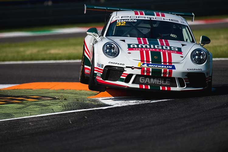 George Gamble - 2018 Porsche Carrera Cup GB - Monza