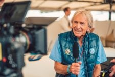 Derek Bell at Goodwood Festival of Speed