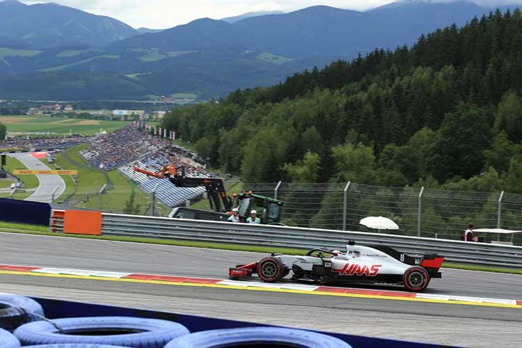 Romain Grosjean - Haas F1 Team - 2018 Austrian Grand Prix - Formula 1