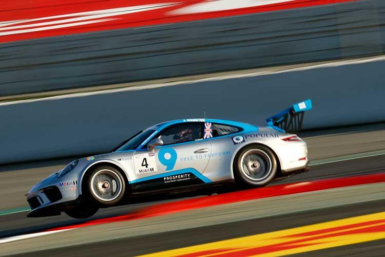 Josh Webster - Porsche Mobil 1 Supercup