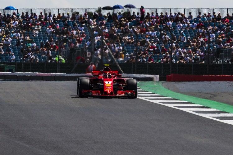 Kimi Räikkönen - British Grand Prix - F1