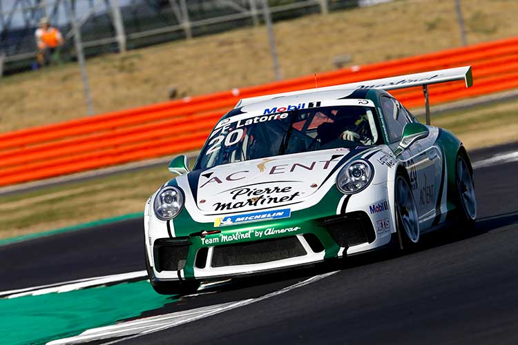 Latorre Takes Impressive Maiden Victory In The Silverstone Heat The Checkered Flag