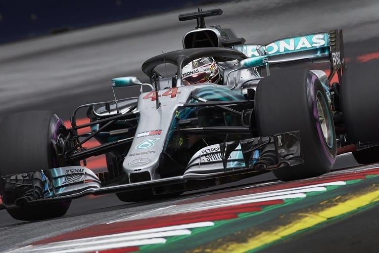 Lewis Hamilton - Mercedes AMG Petronas Motorsport - Austrian Grand Prix