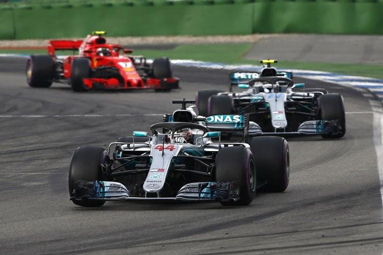 Lewis Hamilton & Valtteri Bottas - Mercedes AMG Petronas Motorsport - Hockenheimring