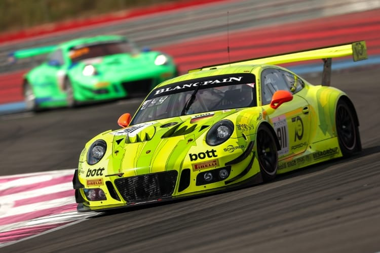 Blancpain GT 2018 - Manthey-Racing, Porsche 911 GT3 R (911), Romain Dumas (F), Frederic Makowiecki (F), Dirk Werner (D), Paul Ricard 2018