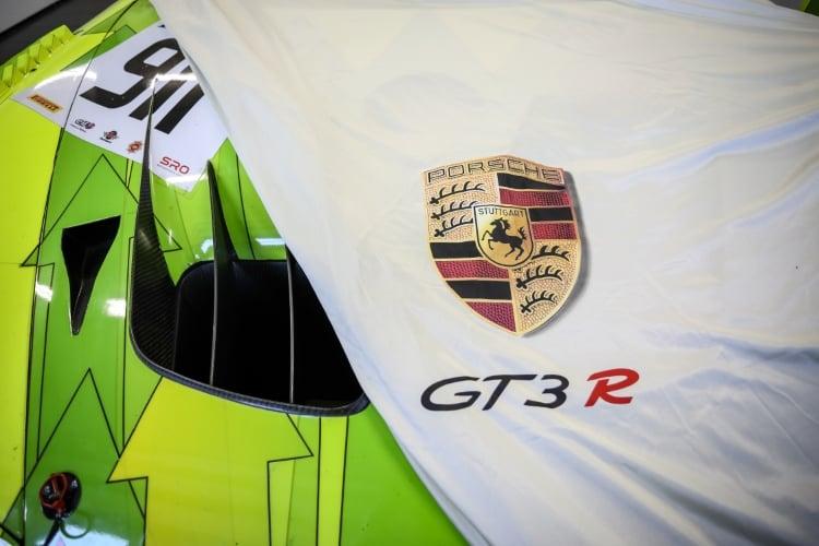 Manthey-Racing, Porsche 911 GT3 R (911), Romain Dumas (F), Frederic Makowiecki (F), Dirk Werner (D), Paul Ricard 2018