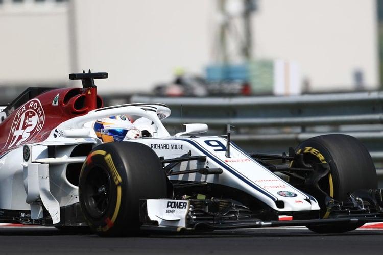 Marcus Ericsson - Hungarian Grand Prix - F1