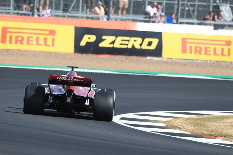 Marcus Ericsson - Alfa Romeo Sauber F1 Team - Silverstone