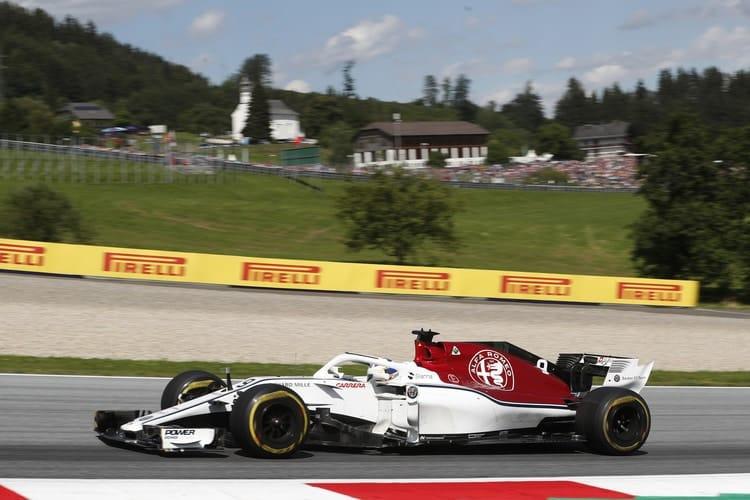 Marcus Ericsson - Austrian Grand Prix - F1