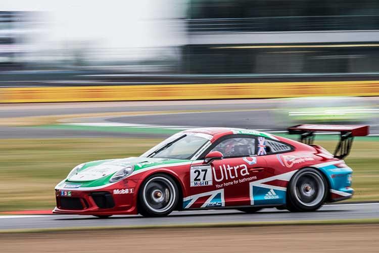 Mark Radcliffe - Porsche Mobil 1 Supercup