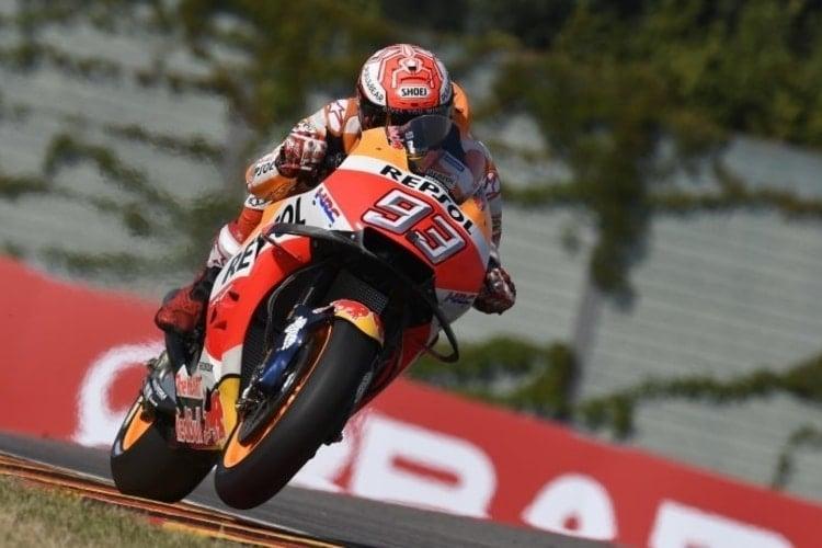 Marc Marquez - Sachsenring FP 2018
