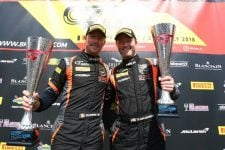 Maxime Martin, Graham Davidson - Jetstream Motorsport - British GT - Spa-Frnacorchamps