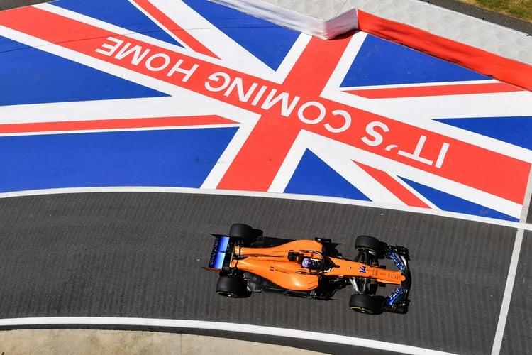 McLaren F1 Team - British Grand Prix - F1
