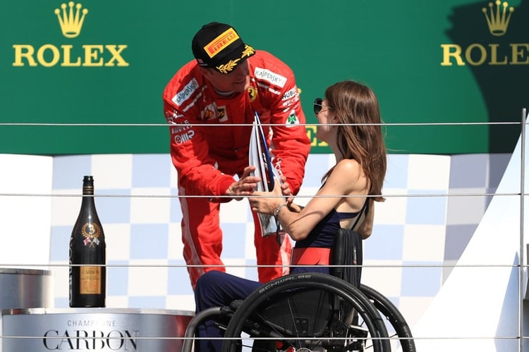 Nathalie McGloin - British Grand Prix - F1