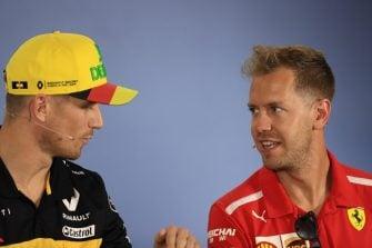 Nico Hülkenberg & Sebastian Vettel - Renault Sport Formula One Team & Scuderia Ferrari - Hockenheimring
