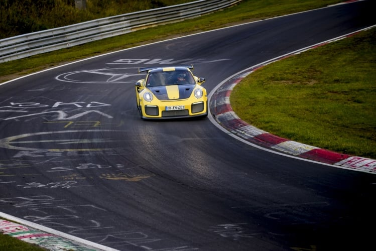 2018 Porsche 911 GT2 RS at the Nurburgring