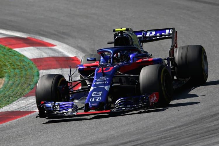 Pierre Gasly - Austrian Grand Prix - F1