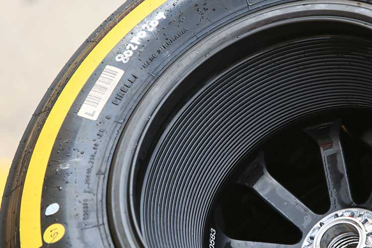 Pirelli Formula 1 tyre
