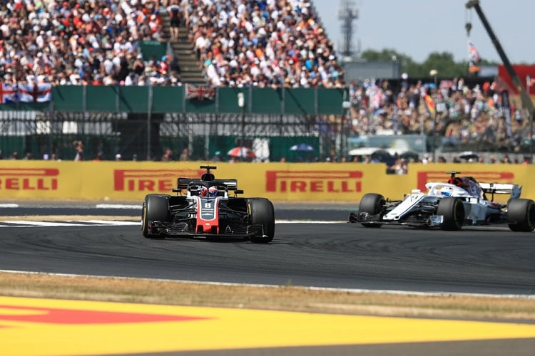 Romain Grosjean & Marcus Ericsson - Haas F1 Team & Alfa Romeo Sauber F1 Team - Silverstone