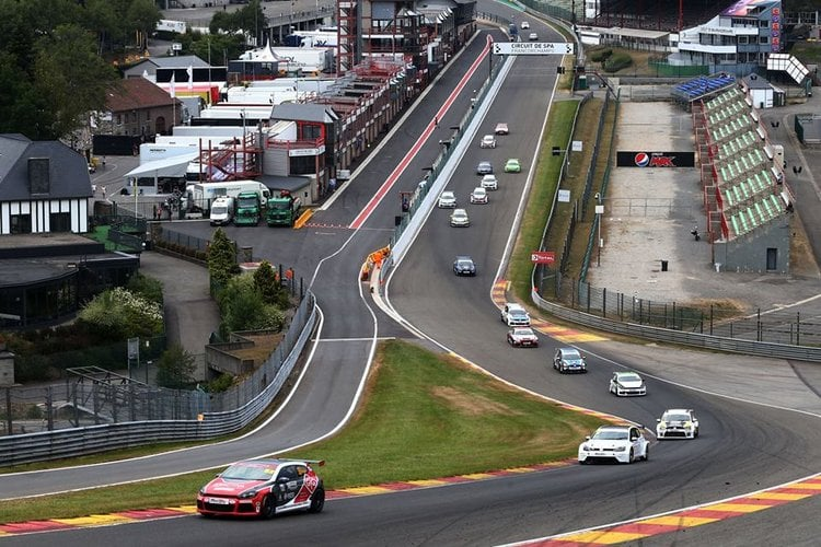 Checkered Flag VW >> Clark Stars in Spa-Francorchamps as VW Front-Runners ...