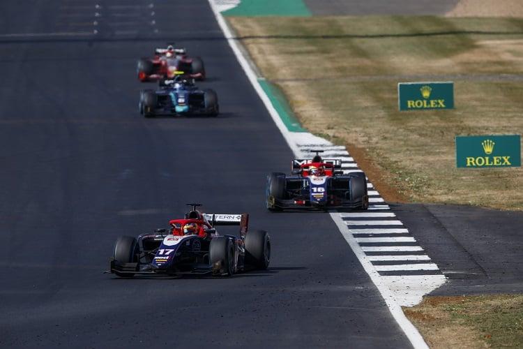 Santino Ferrucci & Arjun Maini - Trident - Silverstone