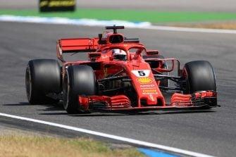 Sebastian Vettel - Scuderia Ferrari - Hockenheimring