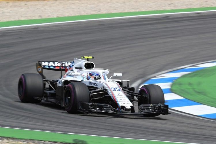 Sergey Sirotkin - Williams Martini Racing - Hockenheimring