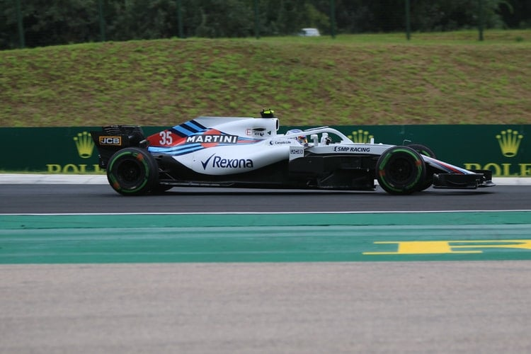 Sergey Sirotkin - Williams Martini Racing - Hungaroring