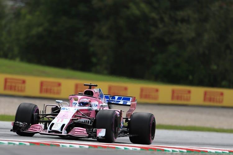 Sergio Perez - Sahara Force India F1 Team
