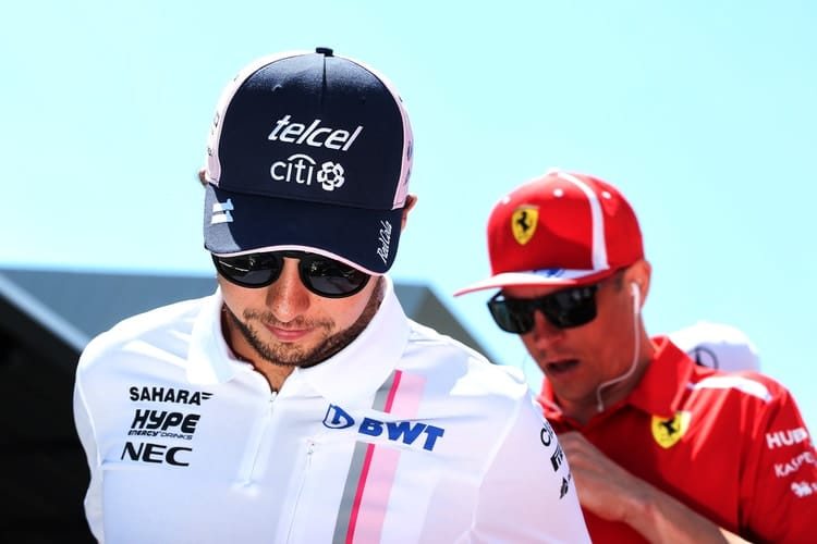 Sergio Perez - British Grand Prix - F1