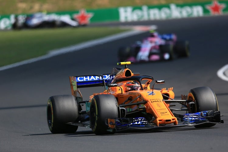 Vandoorne felt 'back to normal' in Hungary | F1 | Formula One