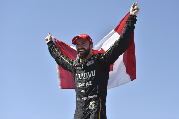 James Hinchcliffe - Schmidt Peterson Motorsports - Iowa Speedway