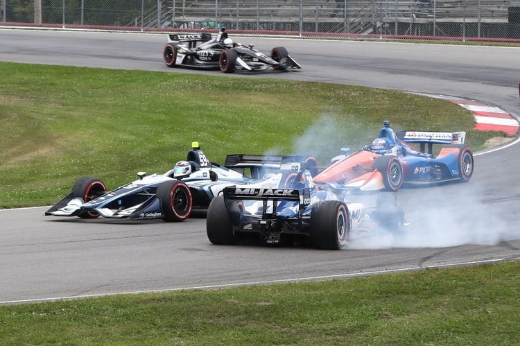 Max Chilton (GBR), Takuma Sato (JAP): Verizon IndyCar Series, Mid-Ohio