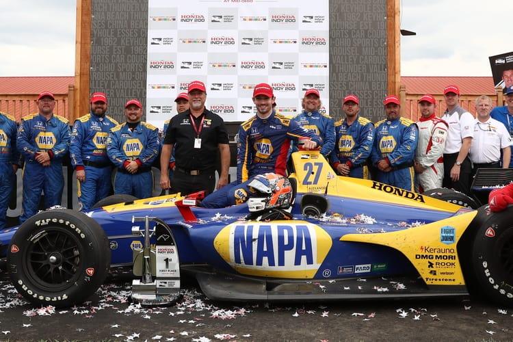 Alexander Rossi (USA): Verizon IndyCar Series, Mid-Ohio, Andretti Autosport