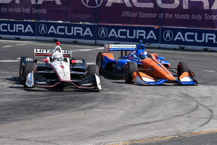 Josef Newgarden, Scott Dixon: IndyCar 2018, Toronto