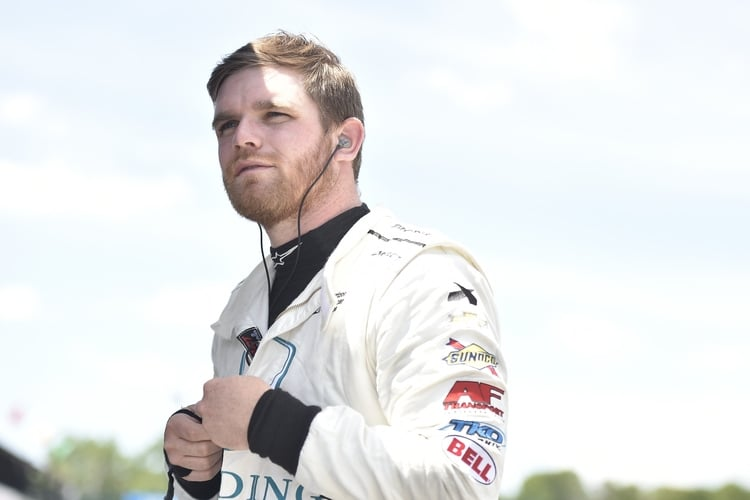 Conor Daly: 2018 IndyCar, Mid-Ohio, Harding Racing