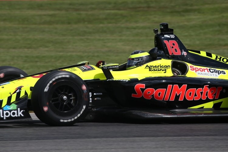 Sebastien Bourdais: Verizon IndyCar Series, Mid-Ohio, 2018, Dale Coyne Racing