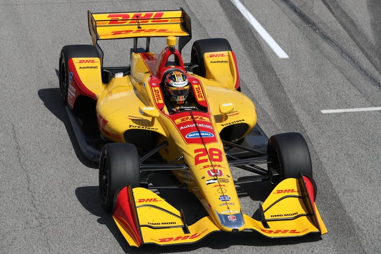 Ryan Hunter-Reay: Verizon IndyCar Series, Mid-Ohio, Andretti Autosport