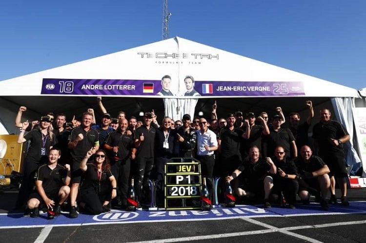 Techeetah hail 'wonderful' season - Formula E
