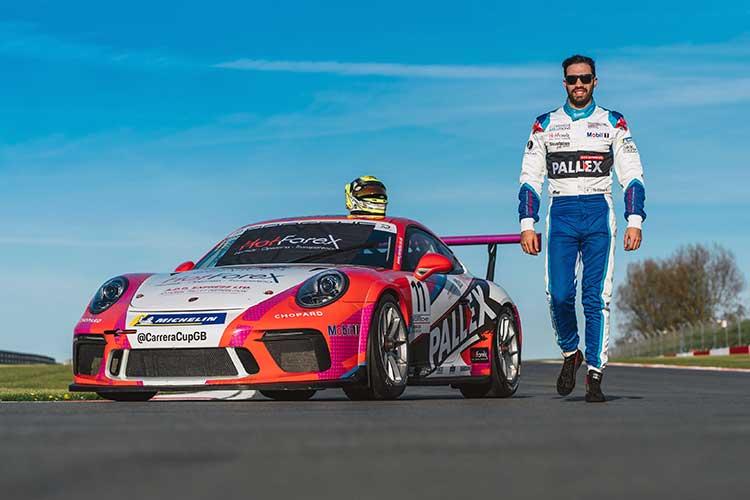 Tio Ellinas - Slidesports Engineering - Porsche Carrera Cup GB