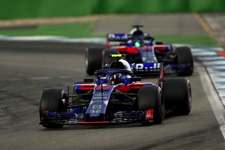 Toro Rosso - German Grand Prix - F1