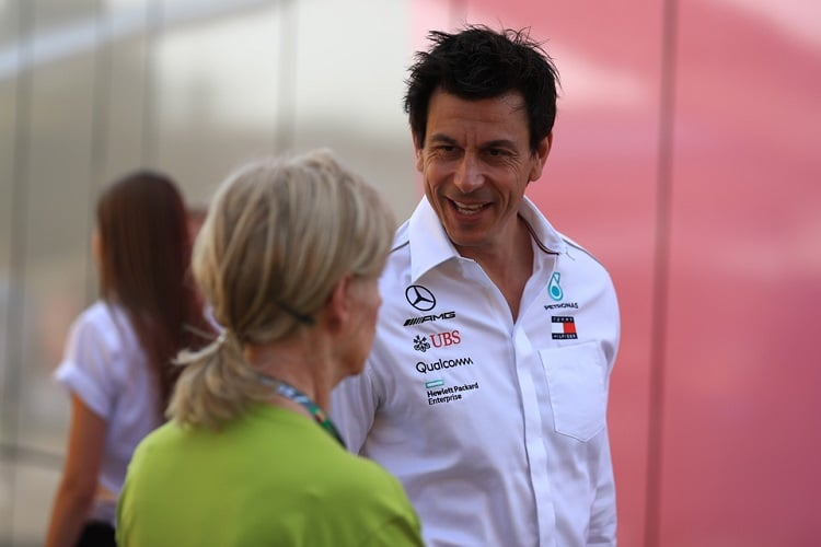 Toto Wolff - Mercedes AMG Petronas Motorsport - Hockenheimring
