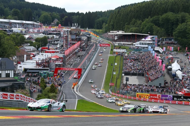 start of the 2017 24 Hours of Spa