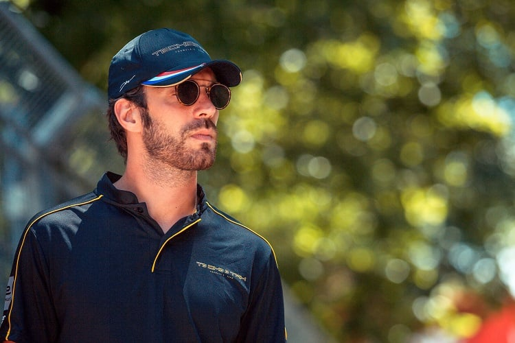 Jean-Eric Vergne New York City ePrix - Formula E