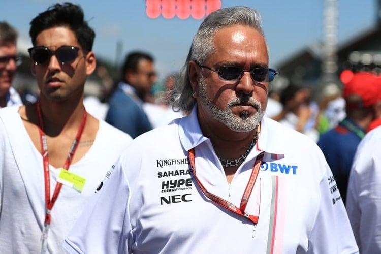 Vijay Mallya - Sahara Force India F1 Team - Silverstone