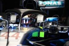 Hamilton in the garage